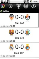 Screenshot of Scoreboard & News