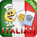Italian Flashcards for Kids icon