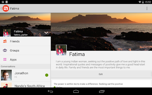 Mxit - screenshot thumbnail