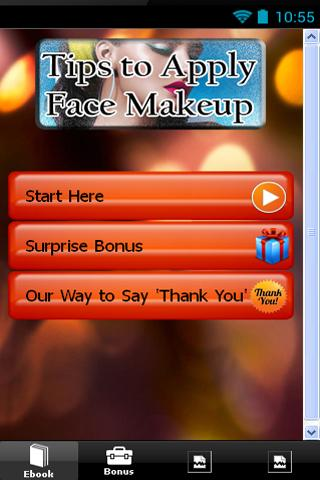 Tips to Apply Face Makeup