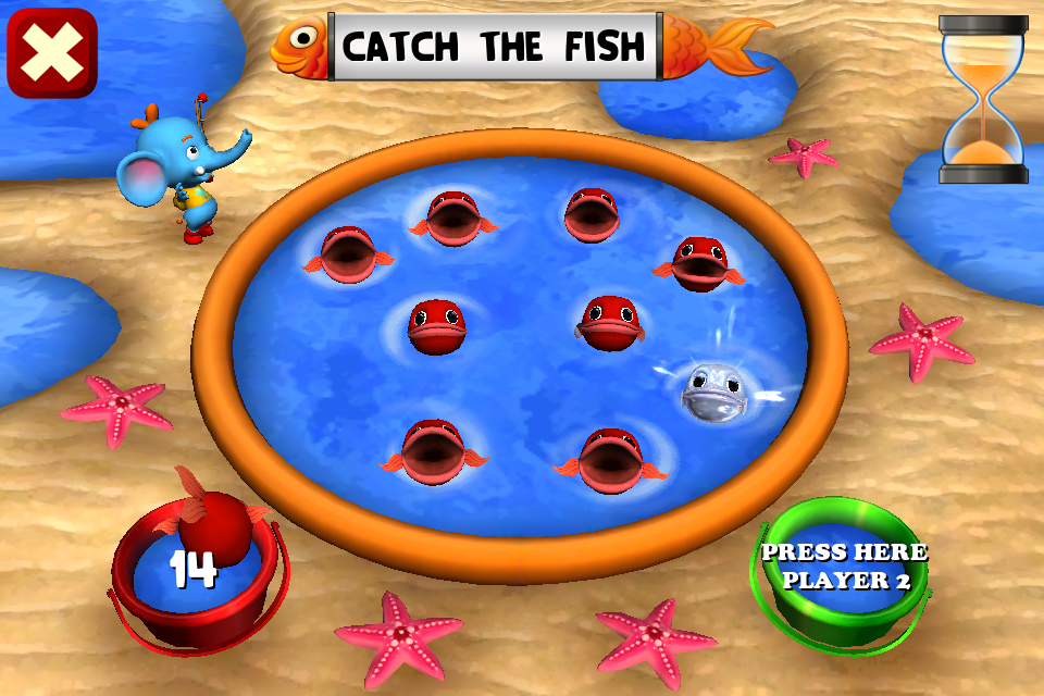 Trunky Fishing Game- screenshot