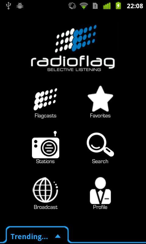 RadioFlag- screenshot