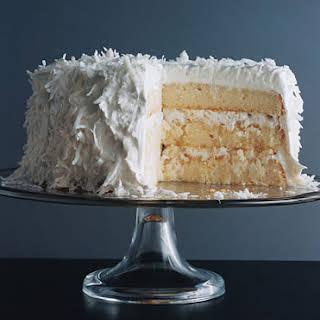 Fresh Coconut Layer Cake.