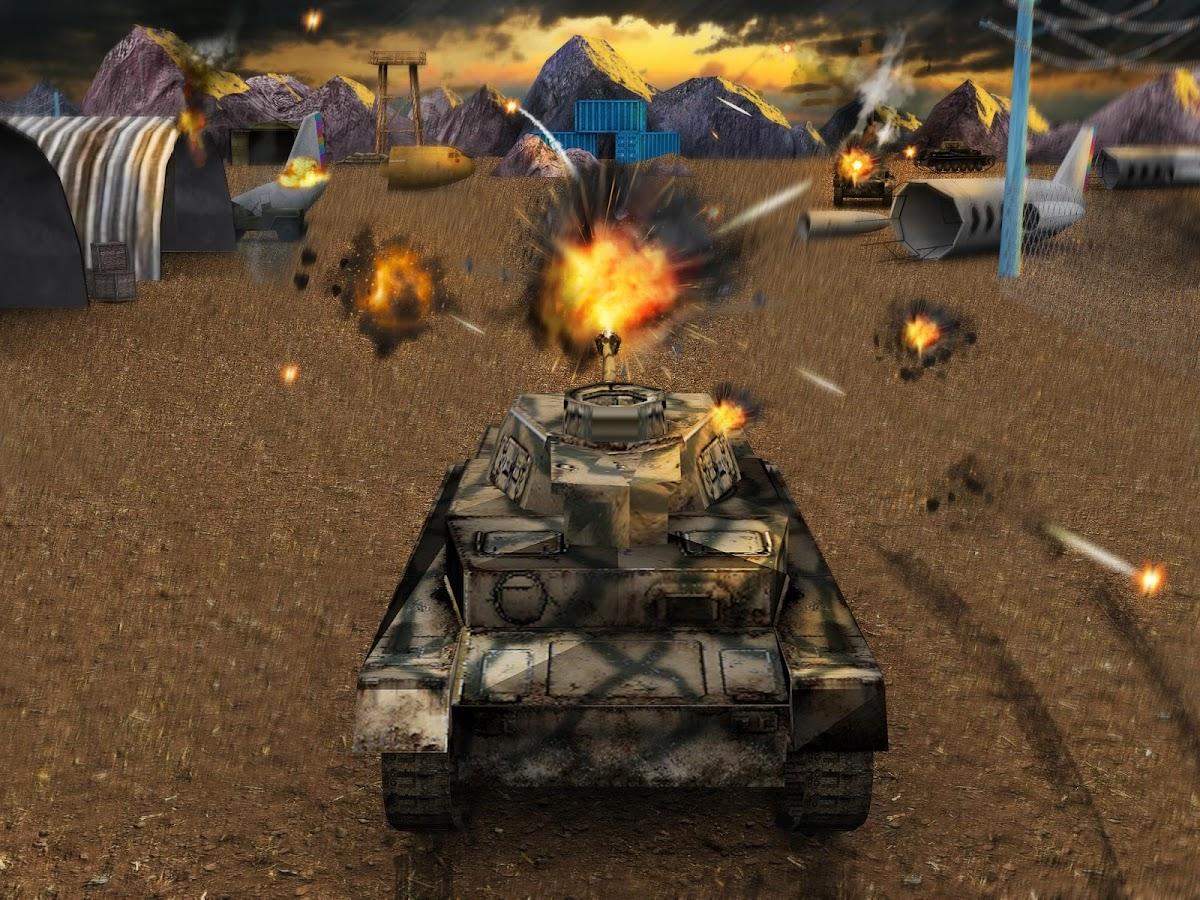 123 teach me tank game - Tank Strike Battle 3d Screenshot