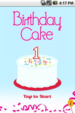 Happy Birthday Cake (free) - screenshot