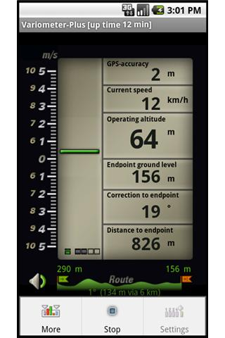 Variometer-Plus - screenshot