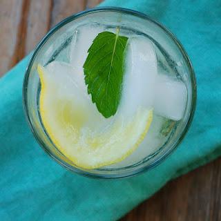 Lemon Balm Simple Syrup & A Wonderful Summer Spritzer