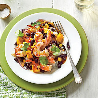 Shrimp-and-Black Bean Stir-Fry