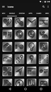 Metal - Icon Pack- screenshot thumbnail
