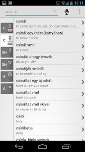 Free Dict Hungarian English- screenshot thumbnail