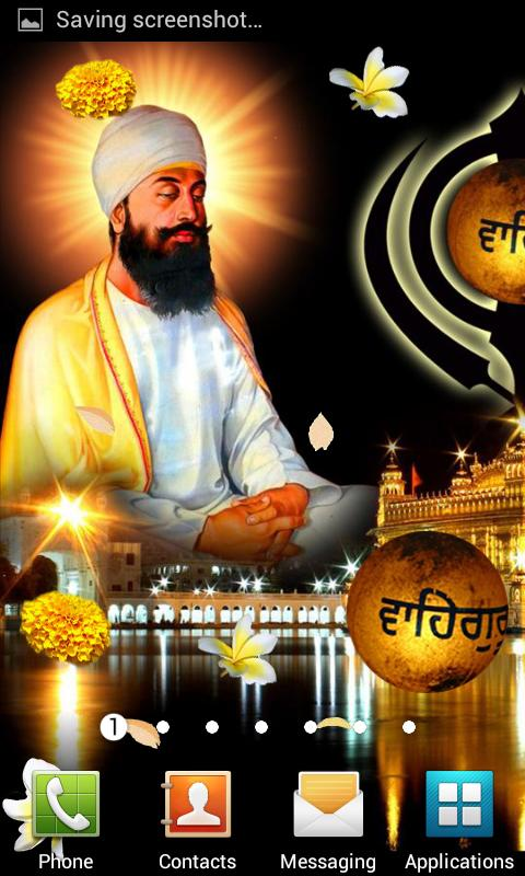 Guru Tegh Bahadur Ji Wallpaper- screenshot