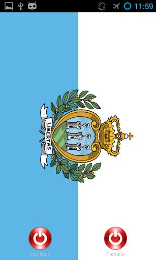 Lantern flashscreen San Marino