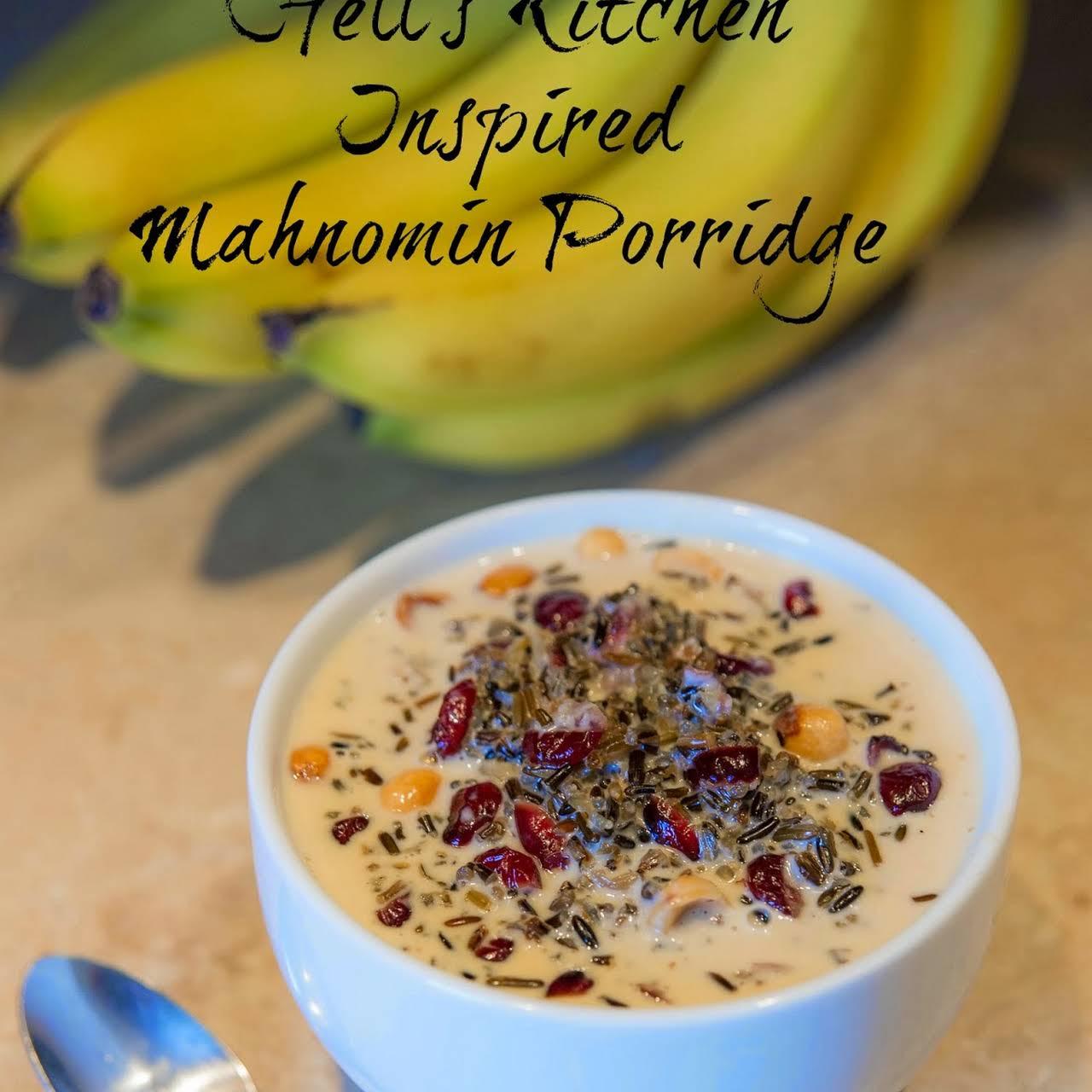 Hells Kitchen Inspired Mahnomin Porridge Recipe & Hells Kitchen Restaurant Review