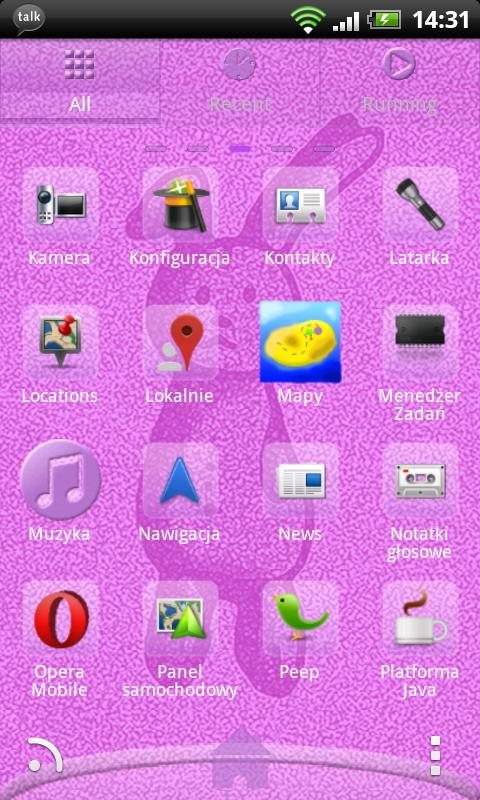 Go Launcher EX Theme Rabbit - screenshot