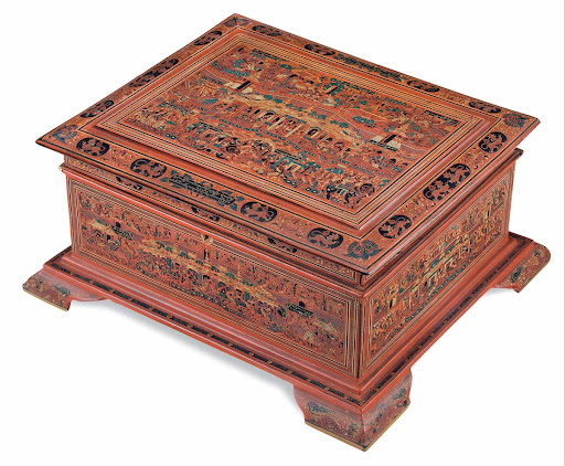 Small chest, with Vessantara story