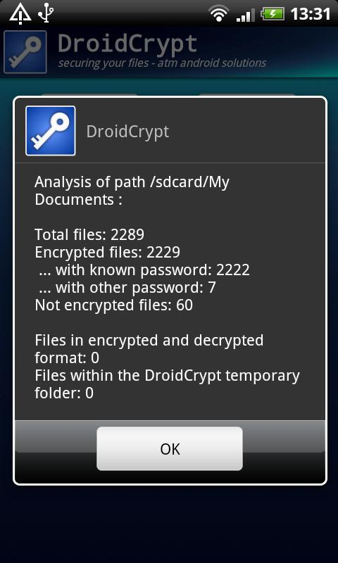 Droid Crypt- screenshot