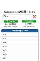 Screenshot of Orthographe Anglais