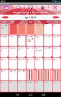 Screenshot of WomanLog Pro Calendar
