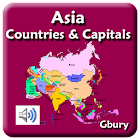 Asia Countries and Capitals icon