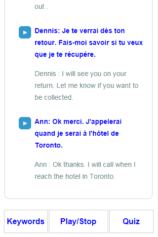 Learn French Speak French- screenshot