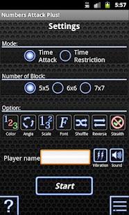 Numbers Attack Plus!- screenshot thumbnail