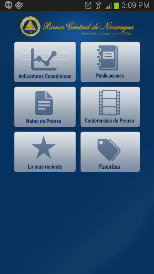 BCN Mobile (deprecated)- screenshot