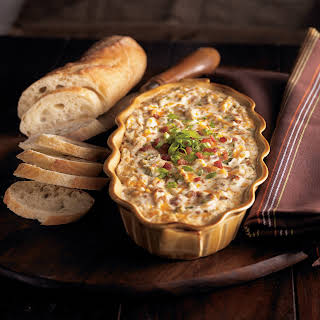 Warm and Creamy Bacon Dip.