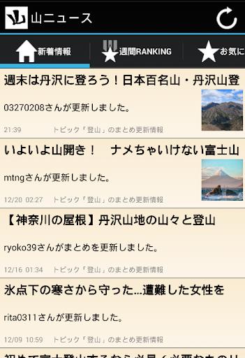 山ニュース
