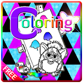 Furby Coloring Kid Games