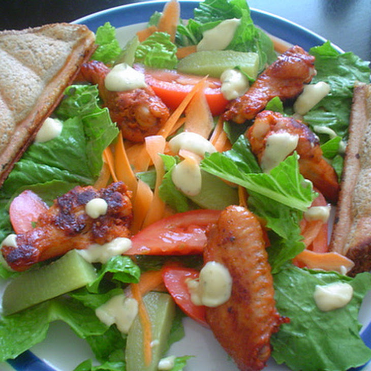 Chicken Wing Salad Recipe