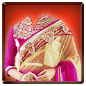 Woman Saree Photo Maker Camera icon