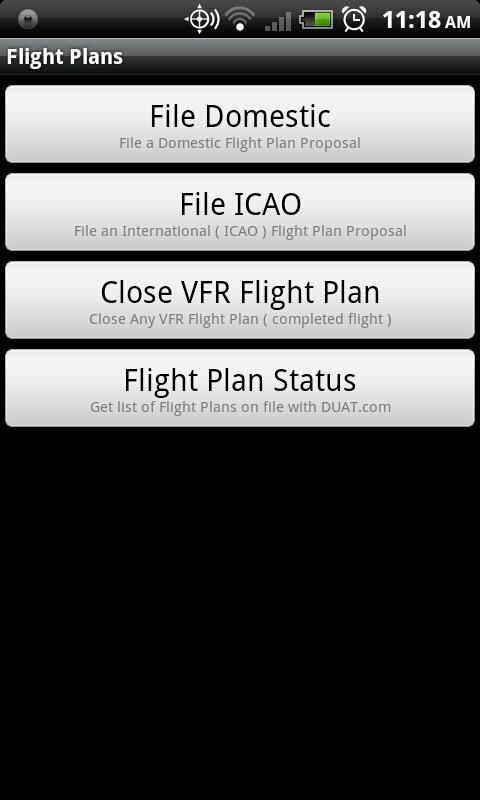 DTC DUAT for Android - screenshot