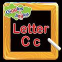 Letter C for LKG Kids Practice