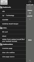 Screenshot of Naked Browser