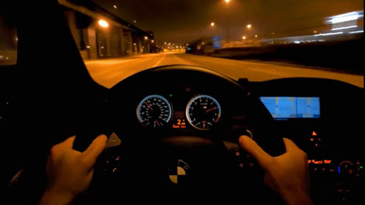 Driving a BMW Live Wallpaper screenshot