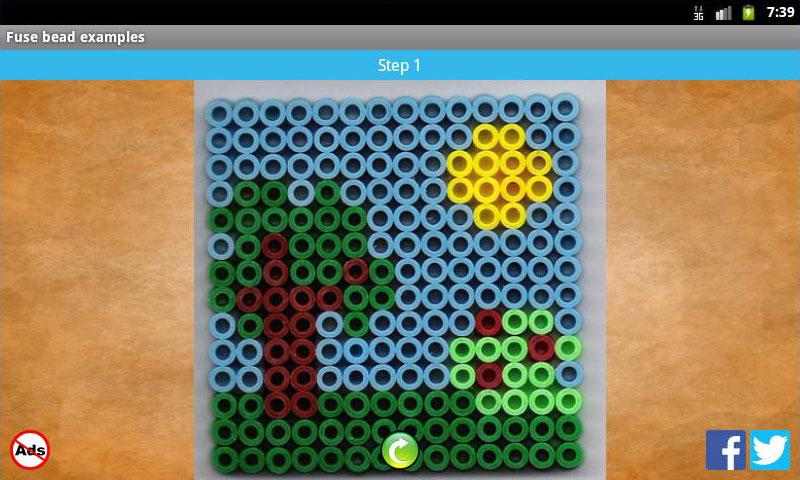 Fuse bead picture examples- screenshot