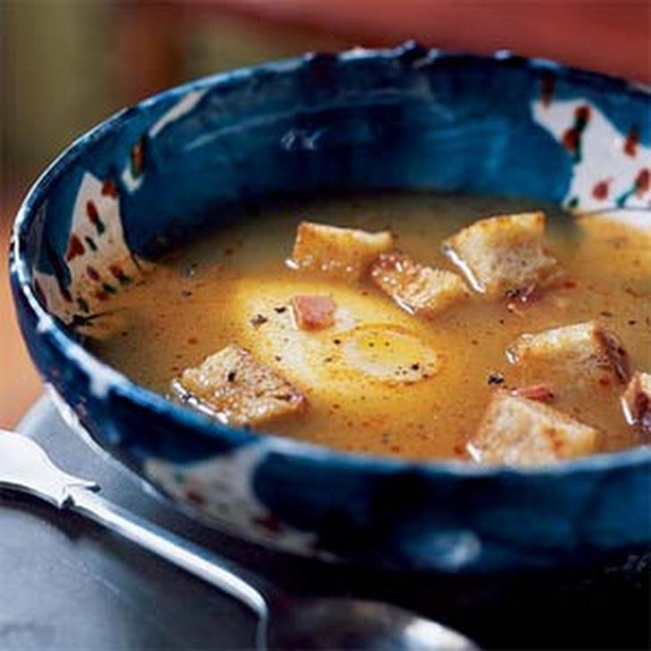 Sopa de Ajo Castellana (Castilian Garlic Soup)