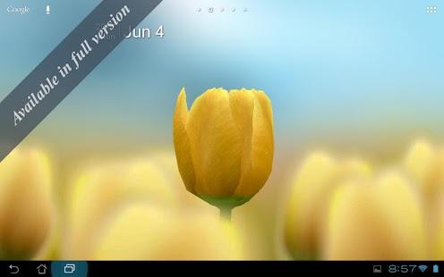 3D Tulip Live Wallpaper Free- screenshot thumbnail