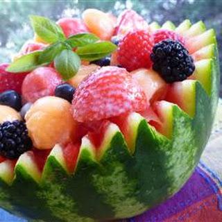 Strawberry-Melon Summer Salad