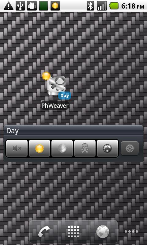 PhoneWeaver - screenshot