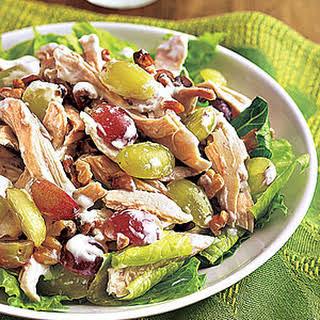 Chicken, Grape and Walnut Salad.