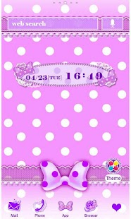 Purple polka dot for [+]HOME - screenshot thumbnail