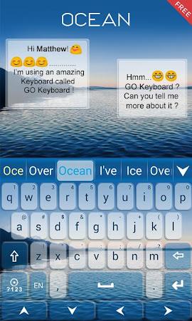 Ocean Emoji GO Keyboard Theme 1.85.5.82 screenshot 189089