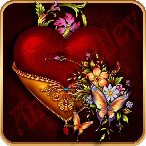 ADWTheme Victorian Heart Song 個人化 App LOGO-APP開箱王