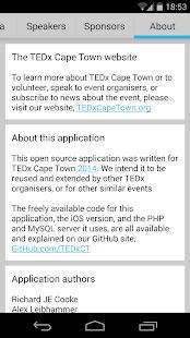 【免費教育App】TEDxCapeTown App-APP點子