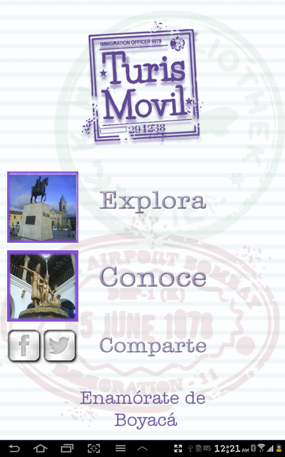Turismovil- screenshot