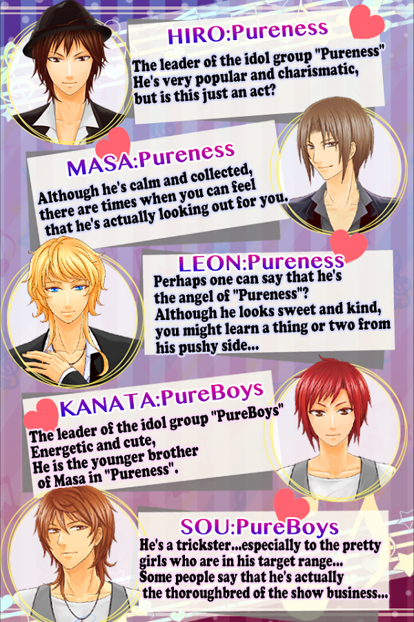 cute anime dating games