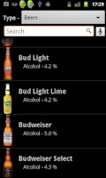 Screenshot of SoberApp  - Alcohol Calculator