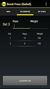 WorkIt - Gym Workout Tracker - screenshot thumbnail