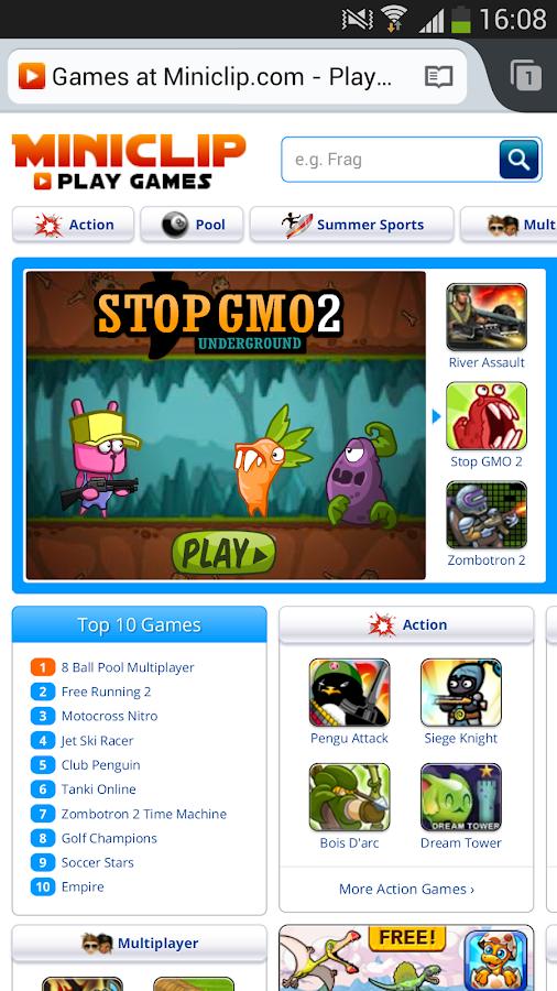 FlashFox Pro - Flash Browser - screenshot